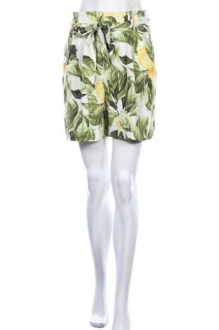 Γυναικείο κοντό παντελόνι H&M, Μέγεθος S, Χρώμα Πολύχρωμο, 51% lyocell, 49% βισκόζη, Τιμή 8,64€