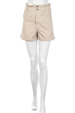 Γυναικείο κοντό παντελόνι H&M, Μέγεθος XS, Χρώμα  Μπέζ, Βαμβάκι, Τιμή 16,40€
