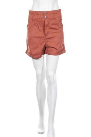 Γυναικείο κοντό παντελόνι H&M, Μέγεθος XS, Χρώμα Πορτοκαλί, Βαμβάκι, Τιμή 15,20€
