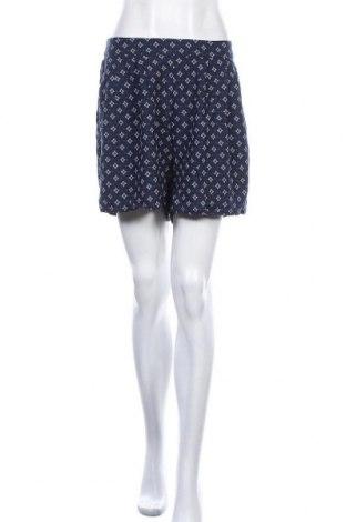 Дамски къс панталон H&M L.O.G.G., Размер L, Цвят Син, Цена 12,60лв.