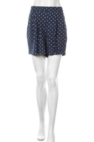 Дамски къс панталон H&M L.O.G.G., Размер XL, Цвят Син, Вискоза, Цена 15,12лв.