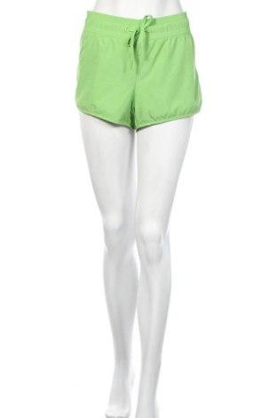 Γυναικείο κοντό παντελόνι H&M Sport, Μέγεθος L, Χρώμα Πράσινο, 100% πολυεστέρας, Τιμή 3,64€