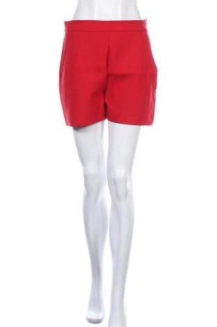 Γυναικείο κοντό παντελόνι Hallhuber, Μέγεθος M, Χρώμα Κόκκινο, 62% πολυεστέρας, 34% βισκόζη, 4% ελαστάνη, Τιμή 20,98€
