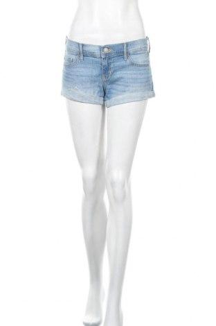 Γυναικείο κοντό παντελόνι Hollister, Μέγεθος M, Χρώμα Μπλέ, 98% βαμβάκι, 2% ελαστάνη, Τιμή 15,59€