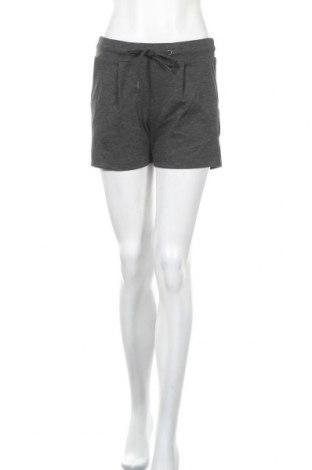 Γυναικείο κοντό παντελόνι Ichi, Μέγεθος S, Χρώμα Γκρί, 74% πολυεστέρας, 22% βισκόζη, 4% ελαστάνη, Τιμή 7,40€