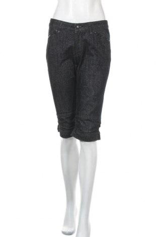 Дамски къс панталон Isabell Kristensen, Размер M, Цвят Син, 70% памук, 15% полиестер, 13% метални нишки, 2% еластан, Цена 12,29лв.