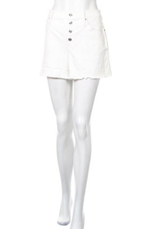 Γυναικείο κοντό παντελόνι J.Crew, Μέγεθος L, Χρώμα Λευκό, 98% βαμβάκι, 2% ελαστάνη, Τιμή 16,04€