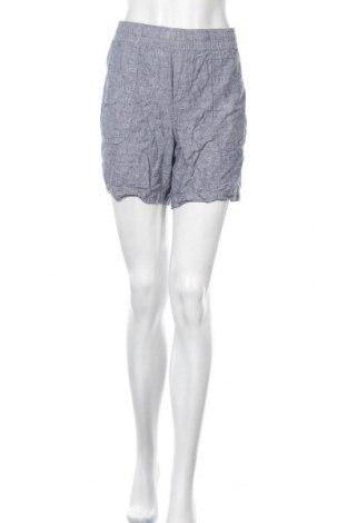 Γυναικείο κοντό παντελόνι Joe Fresh, Μέγεθος M, Χρώμα Μπλέ, 55% λινό, 45% βαμβάκι, Τιμή 5,85€