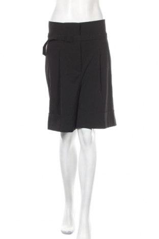 Γυναικείο κοντό παντελόνι KappAhl, Μέγεθος XL, Χρώμα Μαύρο, 65% πολυεστέρας, 32% βισκόζη, 3% ελαστάνη, Τιμή 7,60€