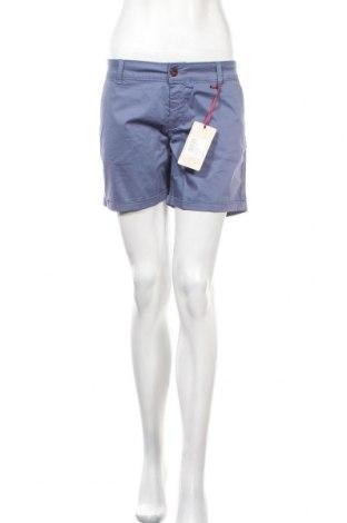 Γυναικείο κοντό παντελόνι Marville, Μέγεθος L, Χρώμα Μπλέ, 95% βαμβάκι, 5% ελαστάνη, Τιμή 21,58€