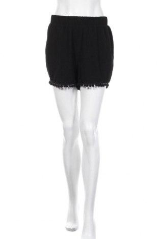 Γυναικείο κοντό παντελόνι Moves by Minimum, Μέγεθος M, Χρώμα Μαύρο, Πολυεστέρας, Τιμή 8,64€
