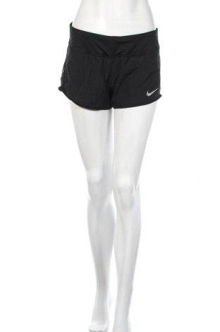 Γυναικείο κοντό παντελόνι Nike, Μέγεθος M, Χρώμα Μαύρο, Πολυεστέρας, Τιμή 12,18€