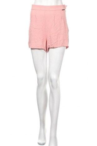 Дамски къс панталон Numph, Размер L, Цвят Розов, Вискоза, Цена 9,45лв.