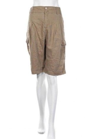 Γυναικείο κοντό παντελόνι Part Two, Μέγεθος XL, Χρώμα Καφέ, Λινό, Τιμή 7,86€