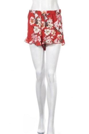 Γυναικείο κοντό παντελόνι Pull&Bear, Μέγεθος L, Χρώμα Κόκκινο, Βισκόζη, Τιμή 5,20€