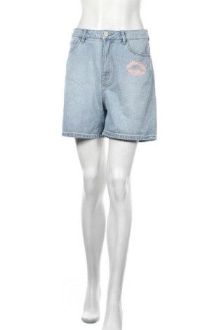 Γυναικείο κοντό παντελόνι Q/S by S.Oliver, Μέγεθος L, Χρώμα Μπλέ, Βαμβάκι, Τιμή 11,11€