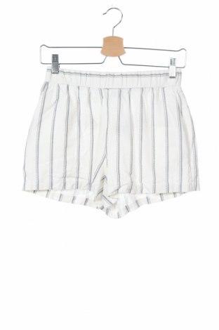 Γυναικείο κοντό παντελόνι Vero Moda, Μέγεθος XS, Χρώμα Λευκό, 55% λινό, 45% βισκόζη, Τιμή 7,40€