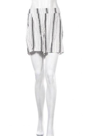 Γυναικείο κοντό παντελόνι Vrs Woman, Μέγεθος XL, Χρώμα Λευκό, Βισκόζη, Τιμή 3,64€