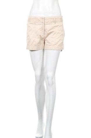 Γυναικείο κοντό παντελόνι Zara, Μέγεθος M, Χρώμα  Μπέζ, 97% βαμβάκι, 3% ελαστάνη, Τιμή 5,46€