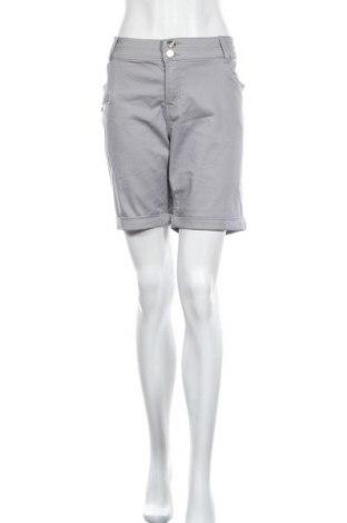 Дамски къс панталон Zavanna, Размер XL, Цвят Сив, 70% памук, 28% полиестер, 2% еластан, Цена 23,94лв.