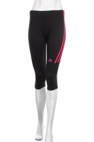 Γυναικείο κολάν Adidas, Μέγεθος S, Χρώμα Μαύρο, Τιμή 16,05€