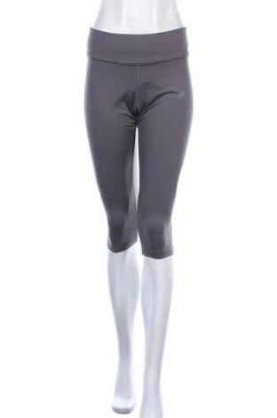 Γυναικείο κολάν Adidas, Μέγεθος M, Χρώμα Γκρί, 92% πολυεστέρας, 8% ελαστάνη, Τιμή 18,02€