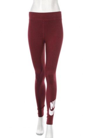 Дамски клин Nike, Размер S, Цвят Червен, 58% памук, 32% полиестер, 10% еластан, Цена 72,00лв.