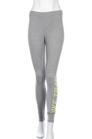 Дамски клин Nike, Размер S, Цвят Сив, 57% памук, 32% полиестер, 11% еластан, Цена 33,60лв.