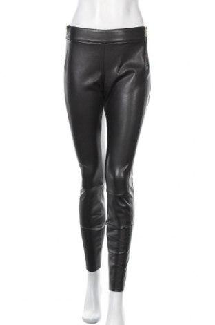 Дамски кожен панталон Boss Orange, Размер M, Цвят Черен, Еко кожа, Цена 89,67лв.