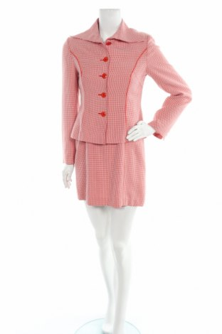Дамски костюм, Размер S, Цвят Червен, Цена 58,59лв.