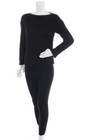 Γυναικείο σετ Alice & Charlotte, Μέγεθος S, Χρώμα Μαύρο, 85%ακρυλικό, 15% πολυαμίδη, Τιμή 26,68€