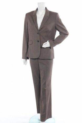 Дамски костюм Cool Code, Размер L, Цвят Кафяв, 75% полиестер, 23% вискоза, 2% еластан, Цена 48,30лв.