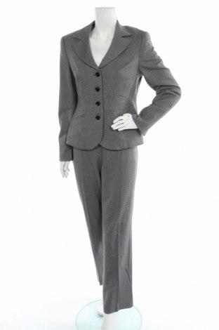 Дамски костюм Taifun, Размер L, Цвят Сив, 63% полиестер, 34% вискоза, 3% еластан, Цена 87,47лв.