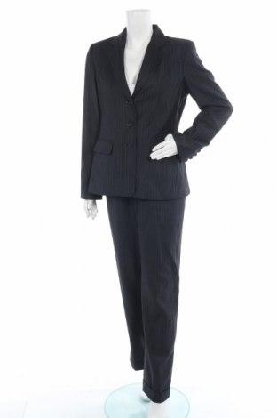 Дамски костюм Via spiga, Размер M, Цвят Сив, 62% полиестер, 30% вискоза, 8% вълна, Цена 74,97лв.