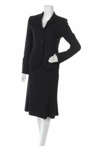 Дамски костюм Windsor, Размер S, Цвят Черен, 97% вълна, 3% еластан, Цена 51,03лв.