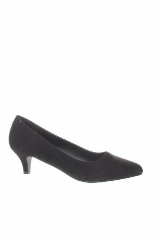 Γυναικεία παπούτσια Anna Field, Μέγεθος 41, Χρώμα Μαύρο, Κλωστοϋφαντουργικά προϊόντα, Τιμή 30,41€