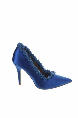 Γυναικεία παπούτσια Bebo, Μέγεθος 37, Χρώμα Μπλέ, Κλωστοϋφαντουργικά προϊόντα, Τιμή 26,47€