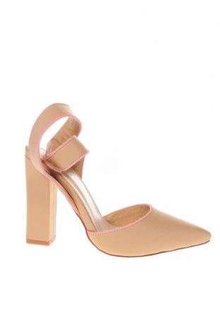Γυναικεία παπούτσια Bebo, Μέγεθος 36, Χρώμα  Μπέζ, Κλωστοϋφαντουργικά προϊόντα, Τιμή 22,81€