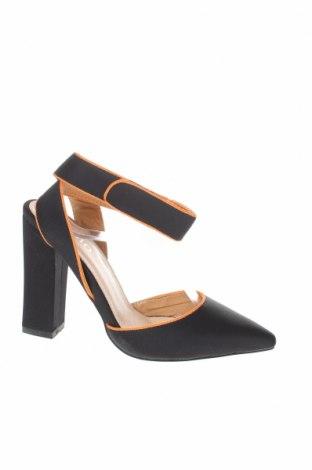 Γυναικεία παπούτσια Bebo, Μέγεθος 36, Χρώμα Μαύρο, Δερματίνη, Τιμή 22,81€