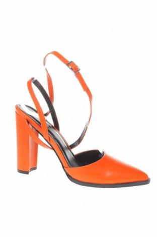 Γυναικεία παπούτσια Bebo, Μέγεθος 37, Χρώμα Πορτοκαλί, Δερματίνη, Τιμή 22,81€