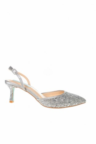 Дамски обувки Betsey Johnson, Размер 36, Цвят Сребрист, Текстил, Цена 43,60лв.