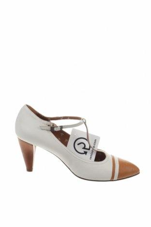 Γυναικεία παπούτσια Boss Orange, Μέγεθος 38, Χρώμα  Μπέζ, Γνήσιο δέρμα, Τιμή 70,15€