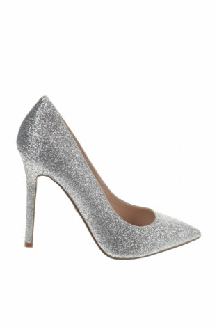 Γυναικεία παπούτσια Buffalo, Μέγεθος 40, Χρώμα Ασημί, Κλωστοϋφαντουργικά προϊόντα, Τιμή 13,76€