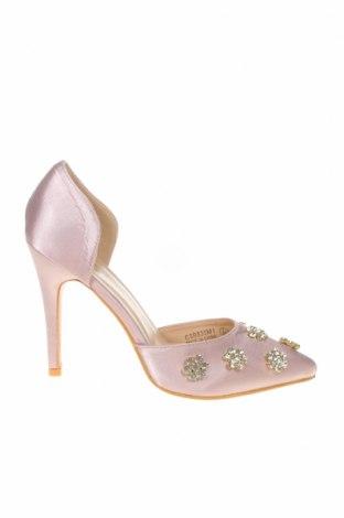 Γυναικεία παπούτσια Chi Chi, Μέγεθος 40, Χρώμα Σάπιο μήλο, Κλωστοϋφαντουργικά προϊόντα, Τιμή 12,22€