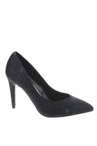 Γυναικεία παπούτσια Dorothy Perkins, Μέγεθος 37, Χρώμα Ασημί, Κλωστοϋφαντουργικά προϊόντα, Τιμή 23,97€