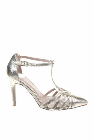 Дамски обувки Dorothy Perkins, Размер 39, Цвят Златист, Еко кожа, Цена 31,86лв.