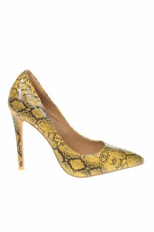 Γυναικεία παπούτσια Ego, Μέγεθος 37, Χρώμα Κίτρινο, Δερματίνη, Τιμή 14,25€