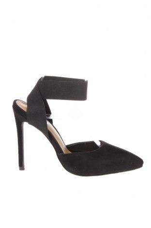 Γυναικεία παπούτσια Ego, Μέγεθος 37, Χρώμα Μαύρο, Κλωστοϋφαντουργικά προϊόντα, Τιμή 26,68€