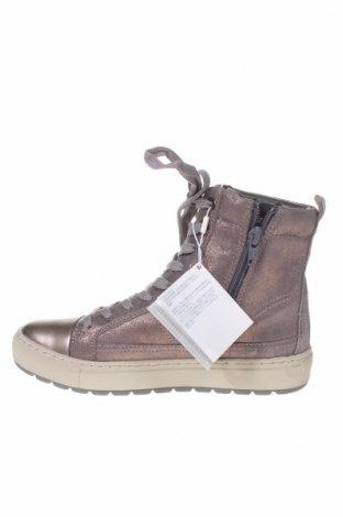 Γυναικεία παπούτσια Geox, Μέγεθος 35, Χρώμα Γκρί, Φυσικό σουέτ, δερματίνη, Τιμή 84,67€