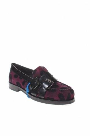 Γυναικεία παπούτσια Geox, Μέγεθος 35, Χρώμα Βιολετί, Φυσικό σουέτ, γνήσιο δέρμα, Τιμή 28,22€